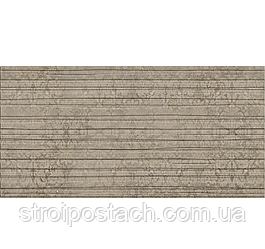 Плитка Берёзакерамика Шафран декор ШАФРАН коричневый