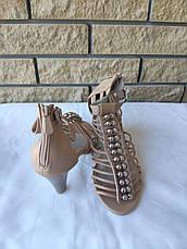 Босоножки женские на ремешке и молнии KAMENGSI, фото 2