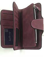 Женский кошелек Baellerry N2345 бордовый, портмоне цвет бордовый. Оригинал