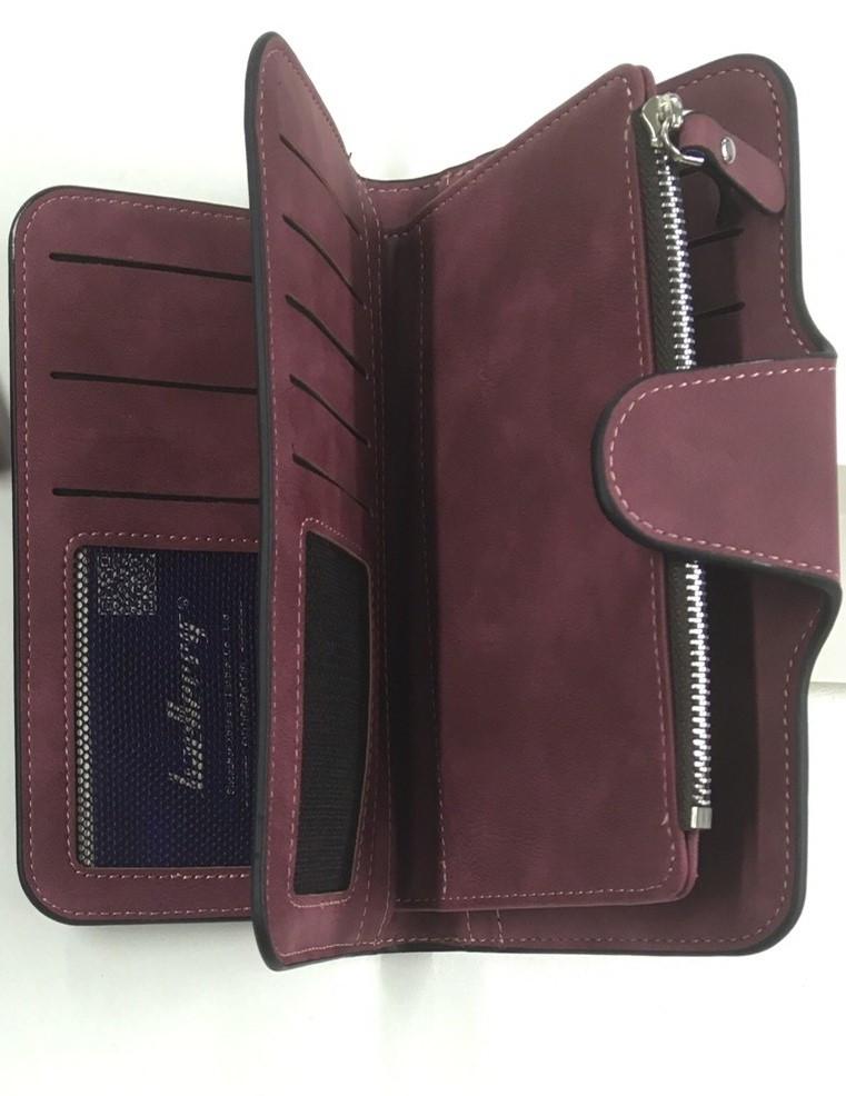 Женский кошелек Baellerry N2345 бордовый, портмоне. Оригинал