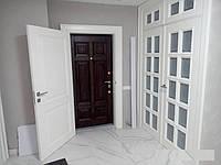 Дверная накладка на входную дверь с межкомнатными дверьми