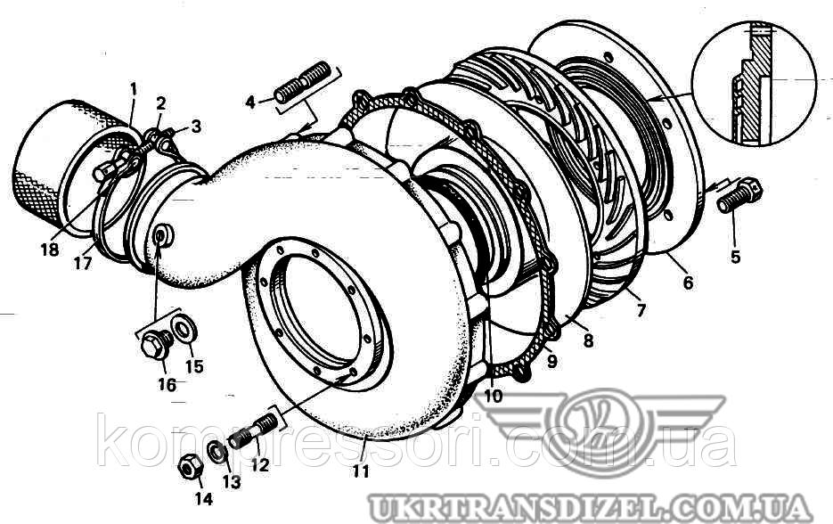 Фильтр масляный УН14-74