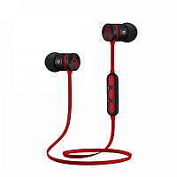Беспроводные спортивные Bluetooth наушники BT-W1 c микрофоном и пультом управления