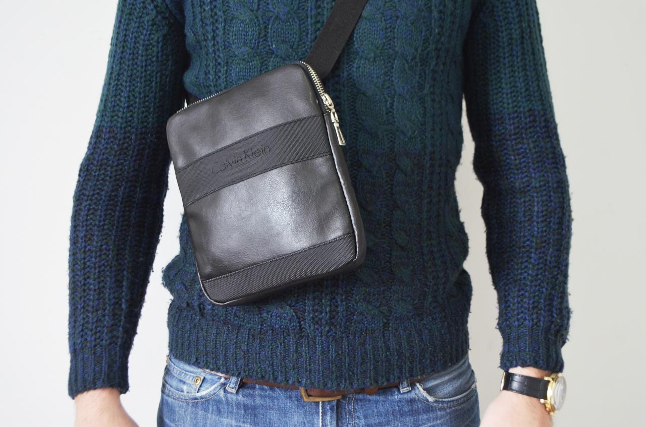 78e05720230d Мужская сумка Calvin Klein (кельвин кляйн) через плечо, без предоплат,  доставка 1