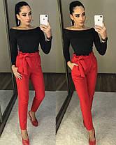 """Женские брюки с высокой талией """"Панни"""", фото 2"""