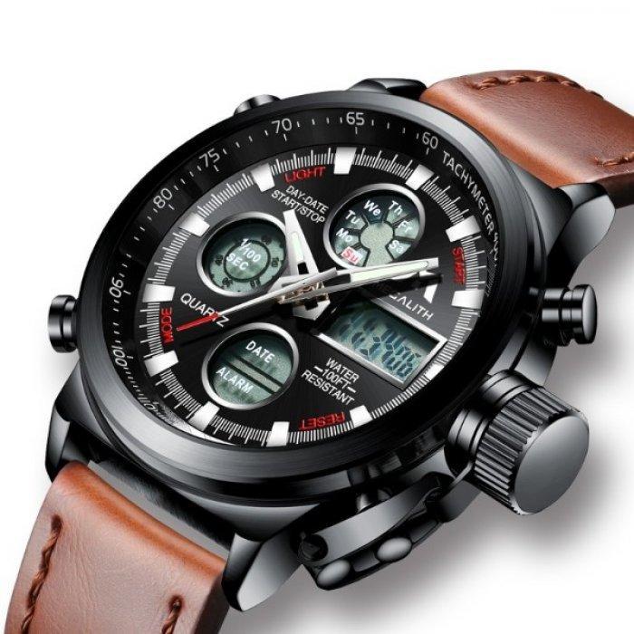 b39cd5c2 MegaLith Water мужские кварцевые часы, цена 825 грн., купить в ...
