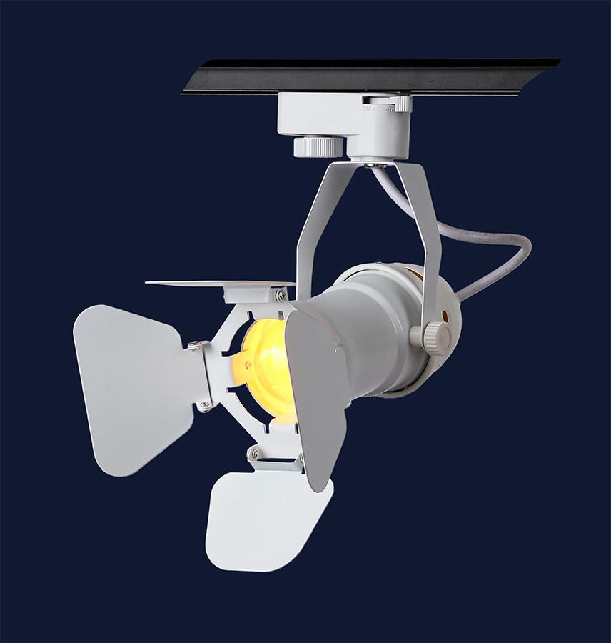 Прожектор на треке в стиле Лофт Levistella 761GD01-1 WH