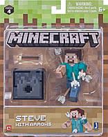 Подвижная фигурка Minecraft Steve with Arrows
