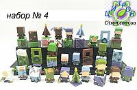 Набор 36 шт. Майнкрафт Minecraft Фигурки героев. Набор №4. Рождественский, фото 1