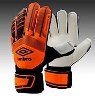 "Перчатки вратарские с защитными вставками ""UMB"" FB-879-2 #F/B"