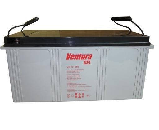 Аккумуляторная батарея Ventura VG 12-200 GEL, фото 2