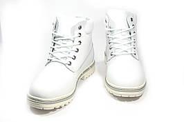 Зимние ботинки (на меху) женские  Timberland 11-117 (реплика)