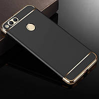 Чехол с золотыми вставками для Huawei Honor 7X (2 Цвета)