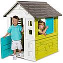 Домик садовый детский игровой Радужный со ставнями  Smoby 810710, фото 2