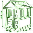 Домик садовый детский игровой Радужный со ставнями  Smoby 810710, фото 5
