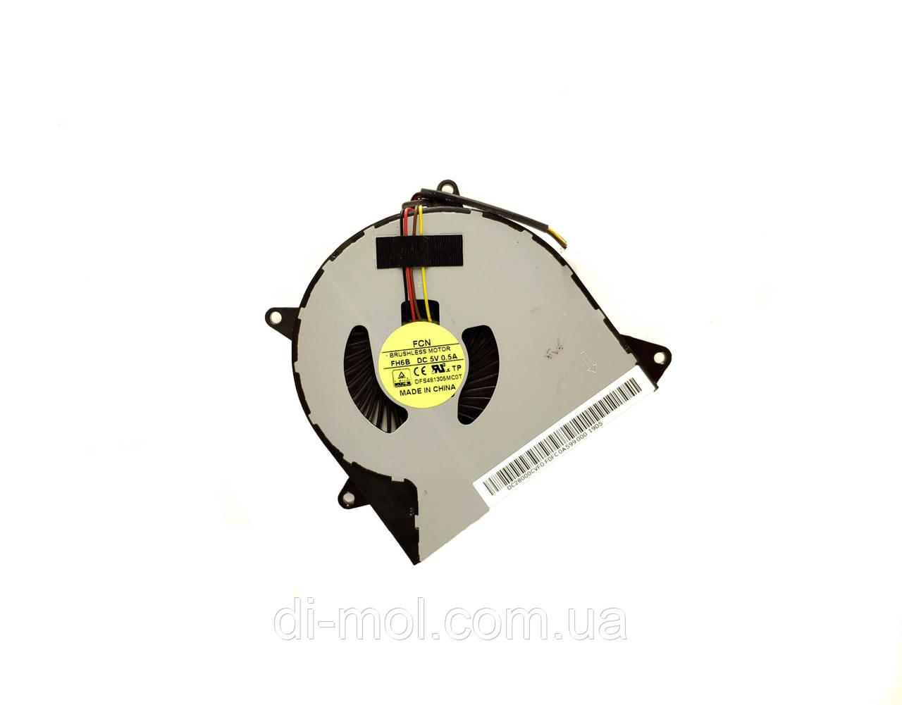 Вентилятор для ноутбука Lenovo Ideapad 100-14IBD, 100-15IBD, 110-14AST, 110-15ACL series, 4-pin
