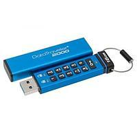 USB флеш накопитель Kingston 16GB DataTraveler 2000 Metal Security USB 3.0 (DT2000/16GB)