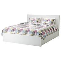 Каркас кровати IKEA MALM 140x200 см белый Leirsund 790.199.16