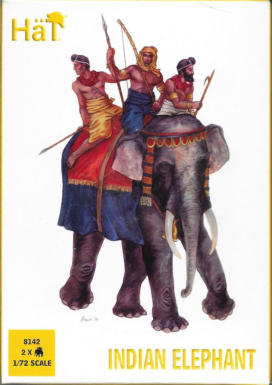 Indian Elephant. 1/72 HAT 8142