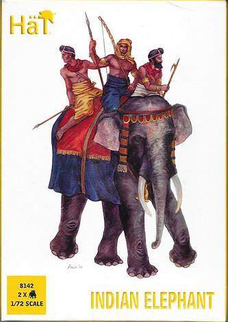 Indian Elephant. 1/72 HAT 8142, фото 2