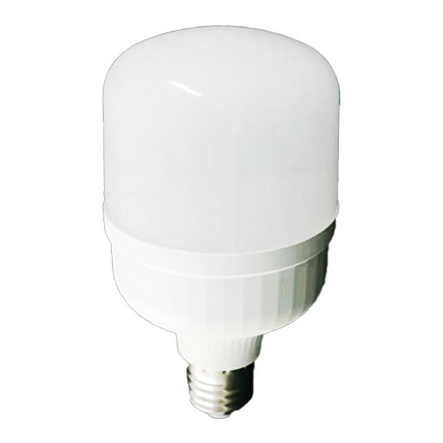 Лампа LED T140-50W-E27-6500K 6000Lm LU-LT50E27 с переходником на Е40 (24 місяців гарантії) TM LUMANO