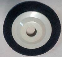 Полірувальний круг пресований пінчастий d125 мм сірий Р180 на болгарку