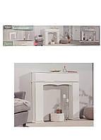 Декоративный камин (портал) Melinera 107х100х18см белый