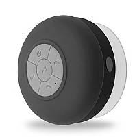 Портативна Bluetooth колонка HB Pebble водонепроникна, на присоску, чорна, фото 1