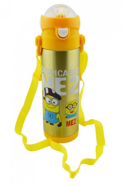 Термос детский с поилкой Disney 9030-500 500мл, желтый