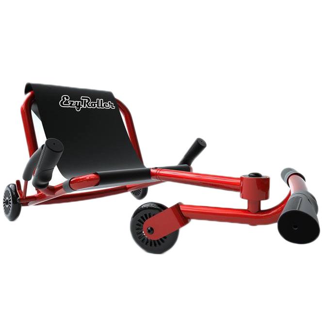 Самокат-каталка детский EzyRoller Classic Neon Red
