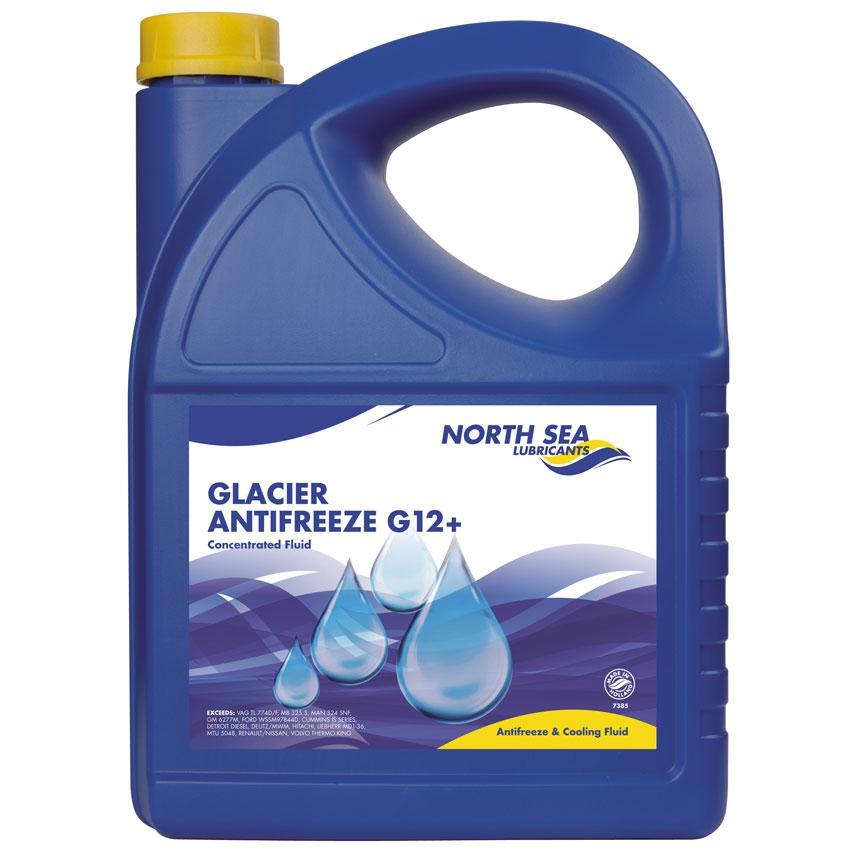 Антифриз красный концентрат NSL GLACIER ANTIFREEZE G12+ 5L