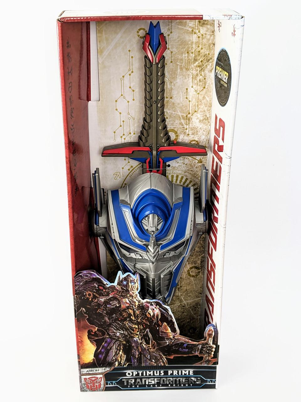 Детский игровой набор маска и меч Оптимус Прайм