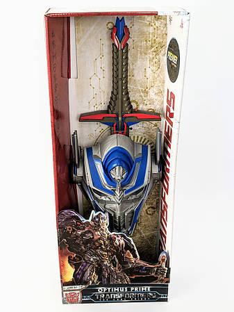 Детский игровой набор маска и меч Оптимус Прайм, фото 2