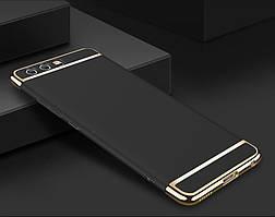 Чехол с золотыми вставками для Huawei Honor 9 (2 Цвета)