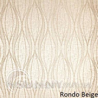 Рулонные шторы для окон в открытой системе Sunny, ткань Rondo