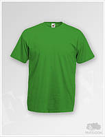 Мужская зеленая футболка Fruit of the Loom