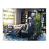Каркас кровати IKEA HEMNES 180x200 см чёрно-коричневый Leirsund 390.197.96, фото 7