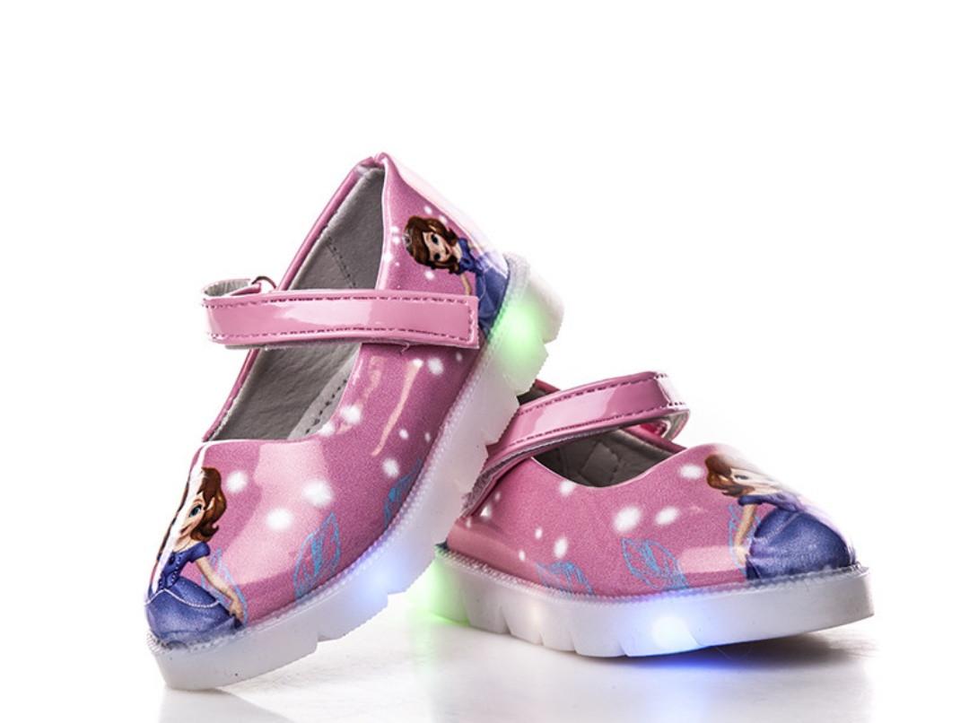 8b939bc9d Детская обувь с подсветкой BBT туфли для девочек принцесса София, цена 140  грн., купить Київ — Prom.ua (ID#930778406)