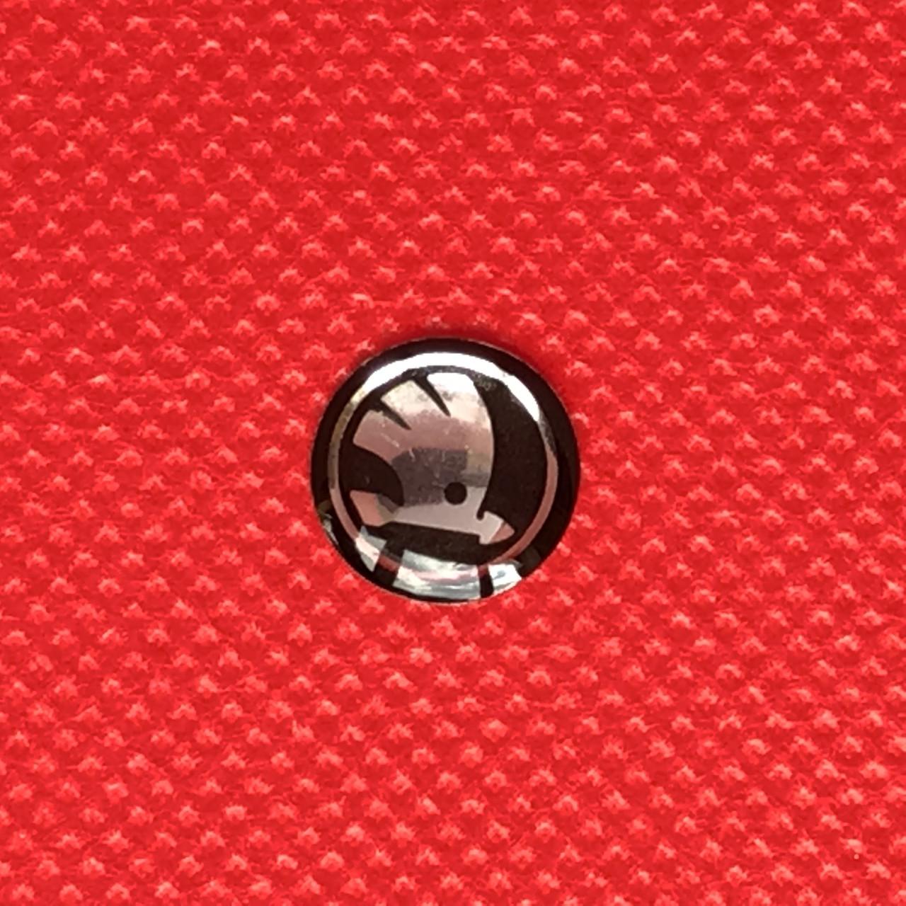 Логотип для авто ключа Шкода Skoda новый 12мм