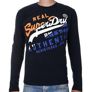 Оригинальный Лонгслив Superdry Vintage Authentic long sleeve top L