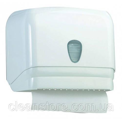 Универсальный держатель полотенец пластик белый