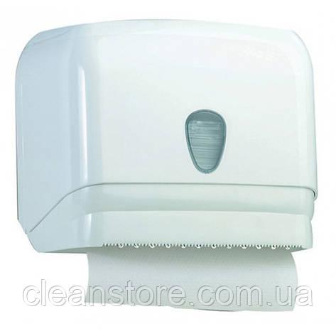 Универсальный держатель полотенец пластик белый, фото 2