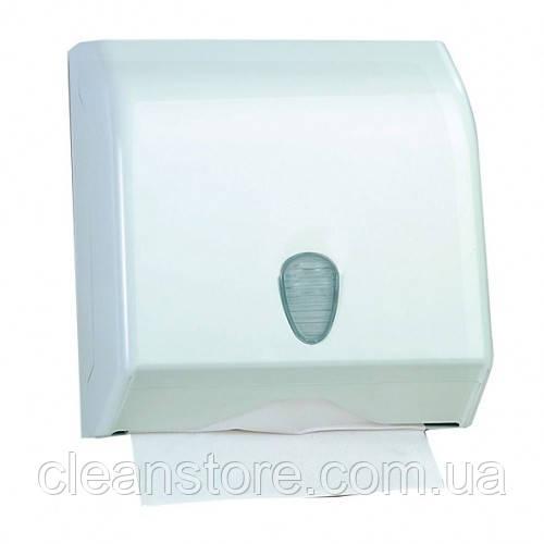 Держатель бумажных полотенец белый пластик