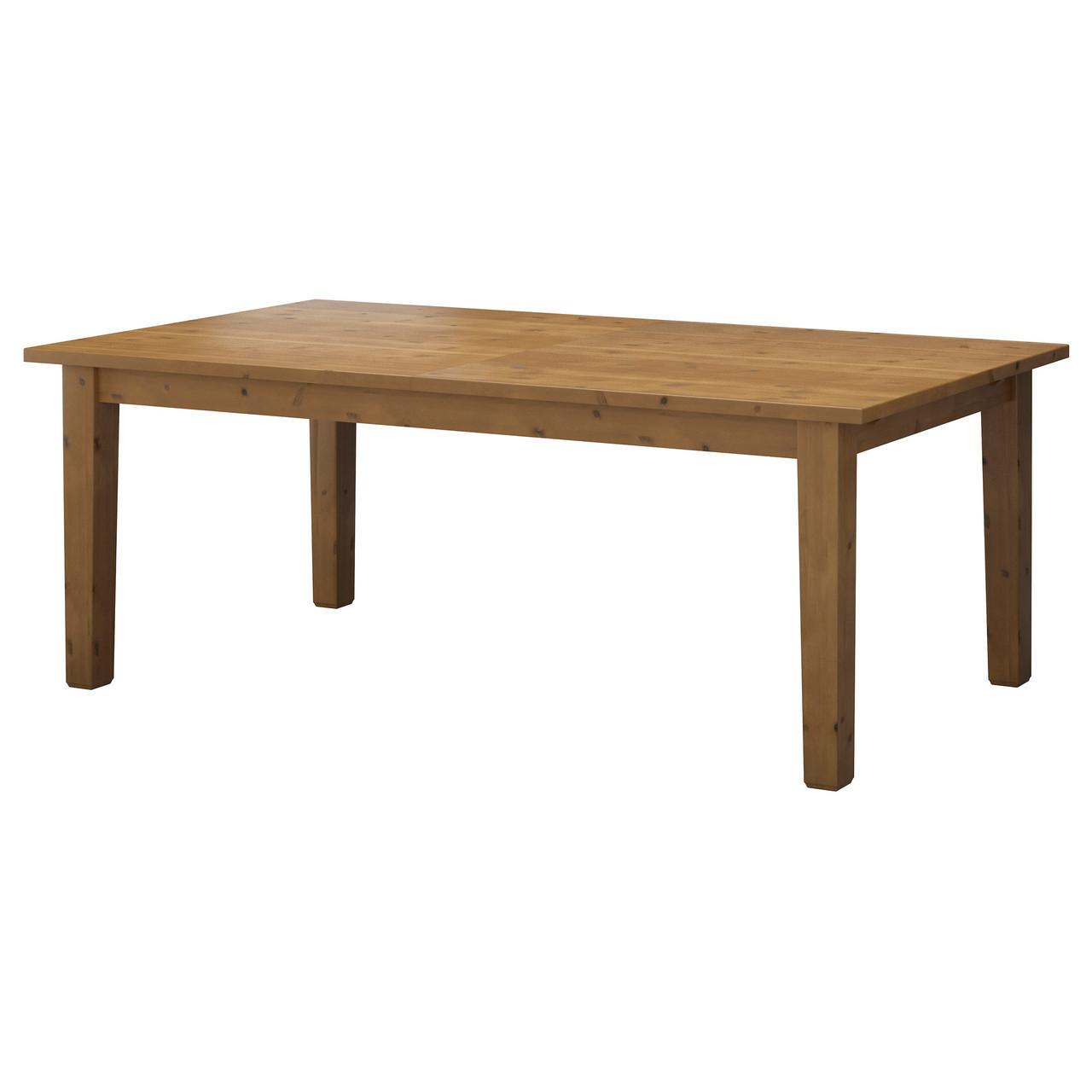 Раздвижной стол IKEA STORNÄS морилка 601.523.40