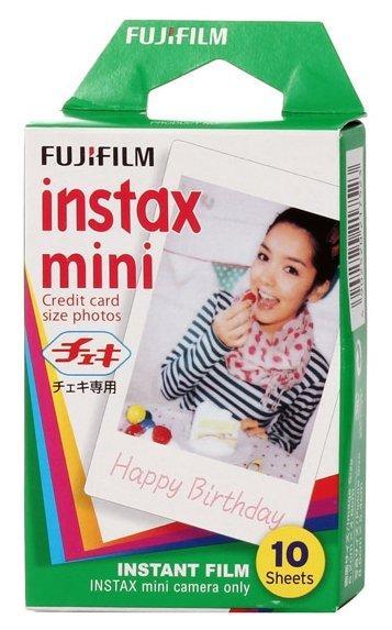 Фотопленка (Фотобумага) Fujifilm Colorfilm Instax Mini Glossy (10шт.)