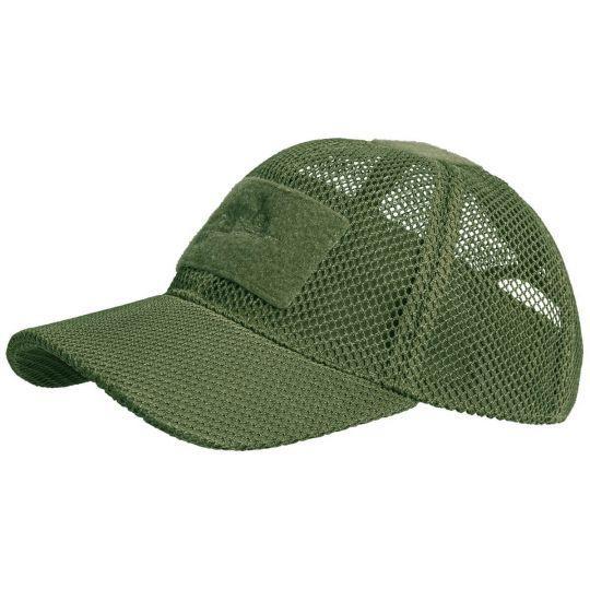 Бейсболка Helikon Baseball MESH Cap olive green  (CZ-BBM-PO-02)