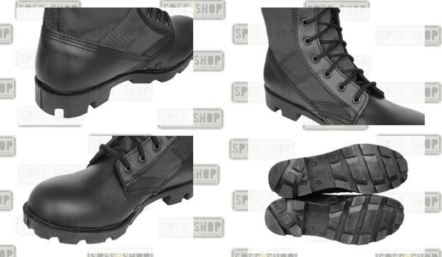 Берцы MIL-TEC US Jungle Panama Tropical Boots Black (12826002) 45 (12826002-45)