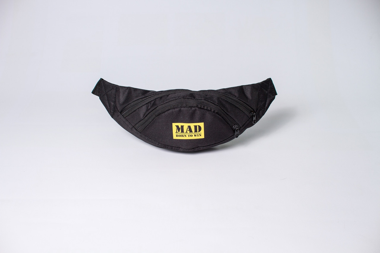 a236df5d Поясная сумка LITE LIFE черная от MAD | born to win™: продажа, цена ...