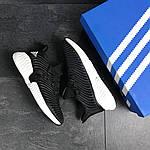 Мужские кроссовки Adidas (черно-белые), фото 4