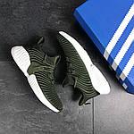 Мужские кроссовки Adidas (темно-зеленые), фото 4